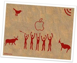 Digital cave painting